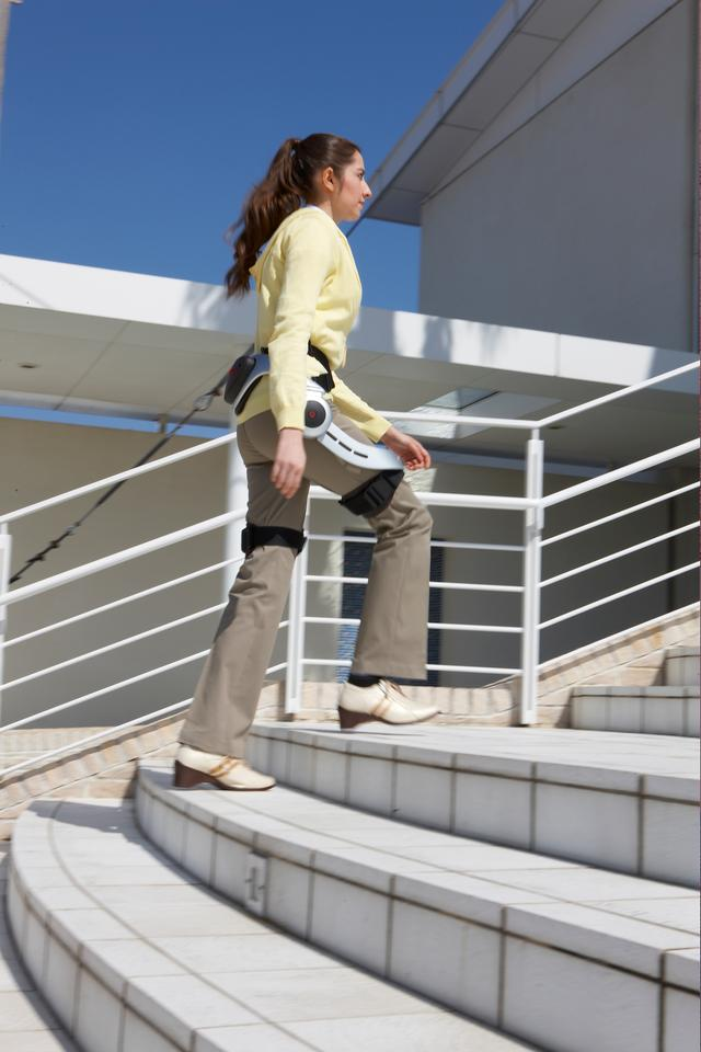 Stride Walking Assist allows for a full range of movement