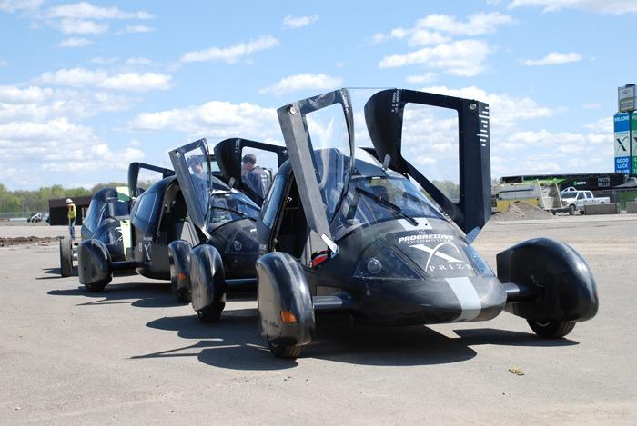 Edison2's Very Light Cars are still in the running for the Automotive X Prize (Image: Edison 2)
