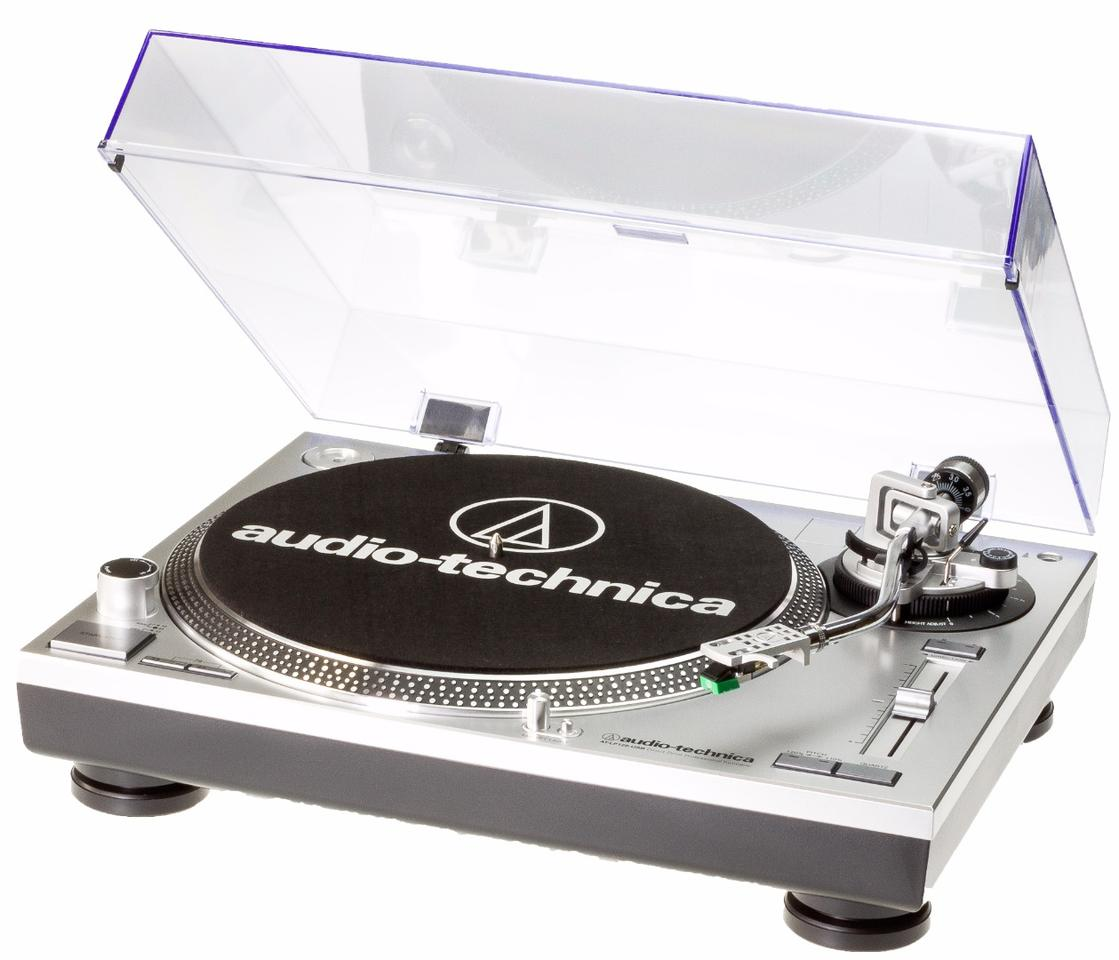 The DJ-friendly AT-LP120USB turntable from Audio Technica