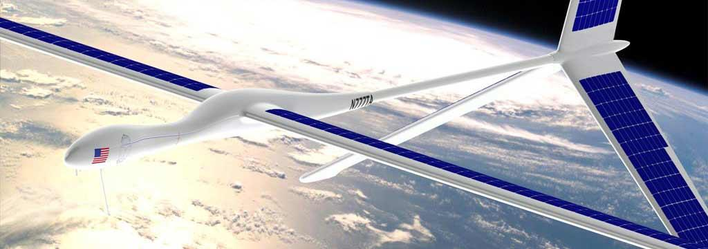 The high-altitude unmanned aircrafts are designed to function as atmospheric satellites