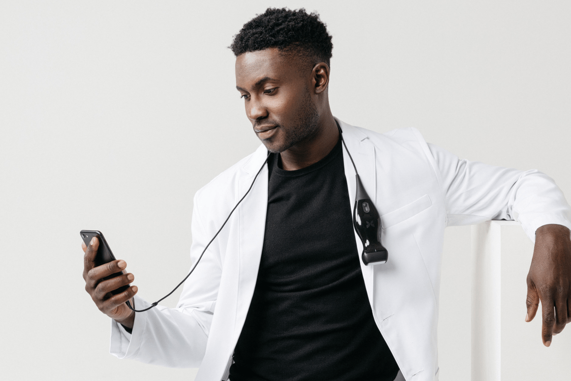 Pocket-sized, affordably-priced ultrasound connects to an iPhone