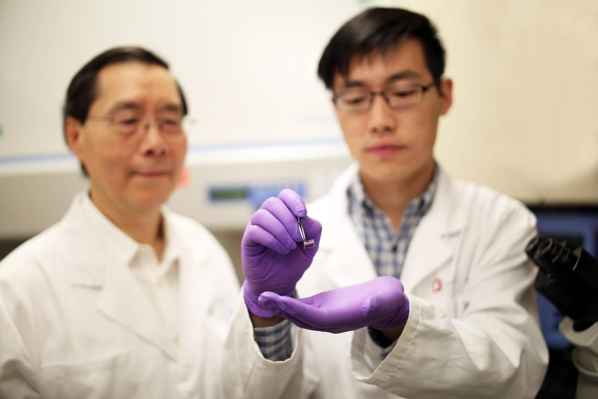 The team hopes to take its Tissue Nanotransfection technologyinto clinical trials some time next year