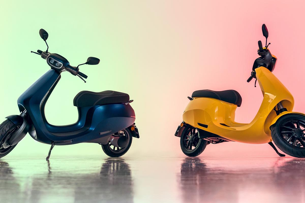 Etergo's AppScooter made its US debut at CES 2019 in Las Vegas