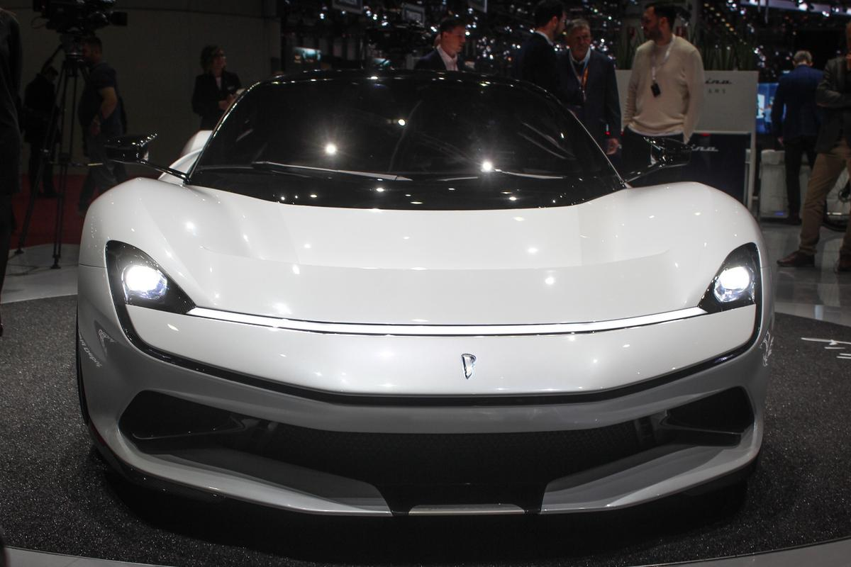 After much hype and anticipation, the Pininfarina Battistamakes its world debut