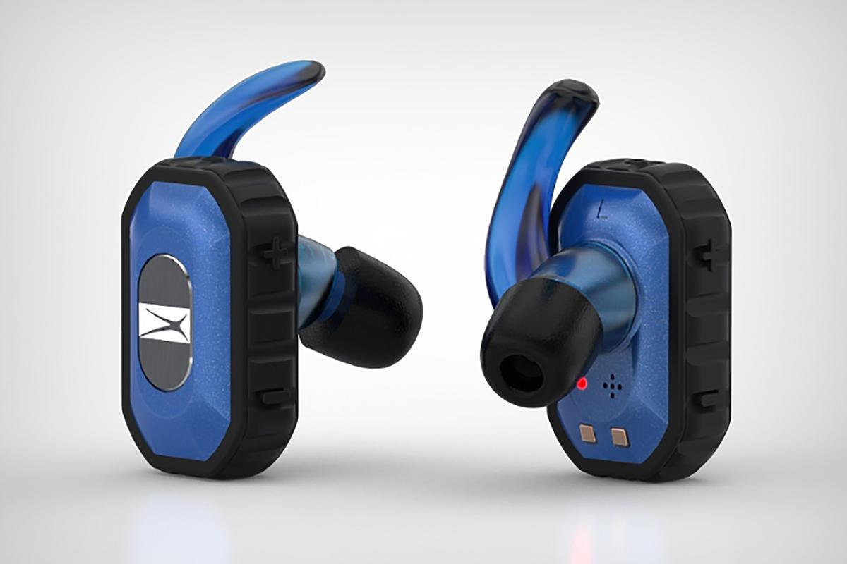 The Freedom earbuds offer a more rugged, truly wireless earbud experience