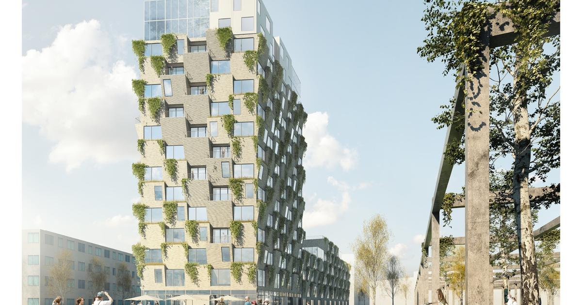 Copenhagen tower will encourage residents to grow their own greens
