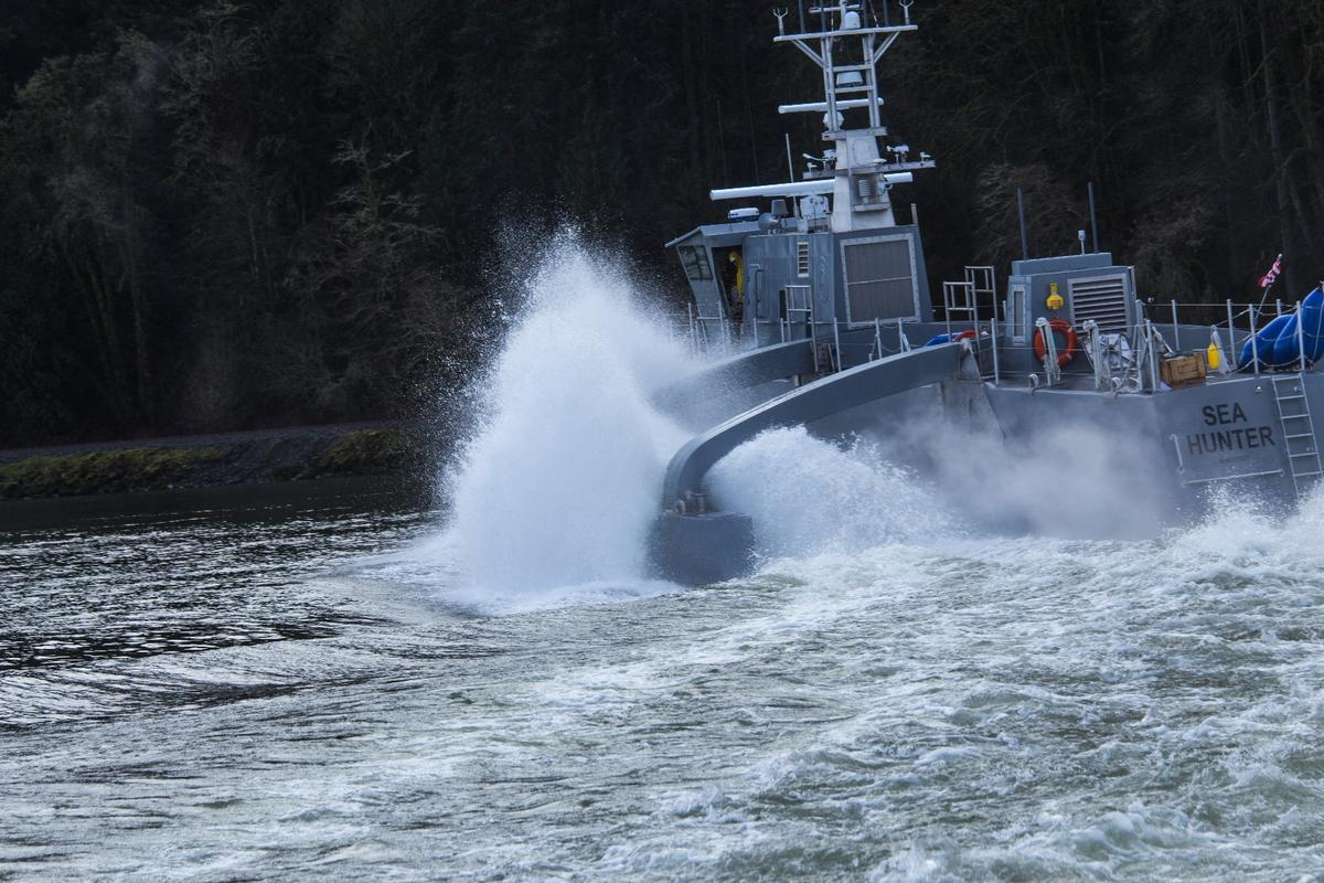 The ACTUV will undergo sea trials of its sensors, mission control hardware and software, and autonomy systems