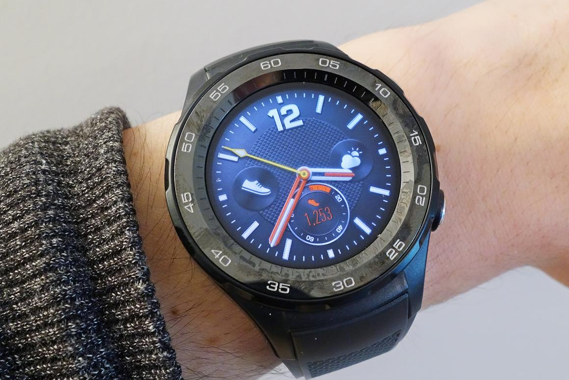 Two years later, Huawei is back with its second smartwatch