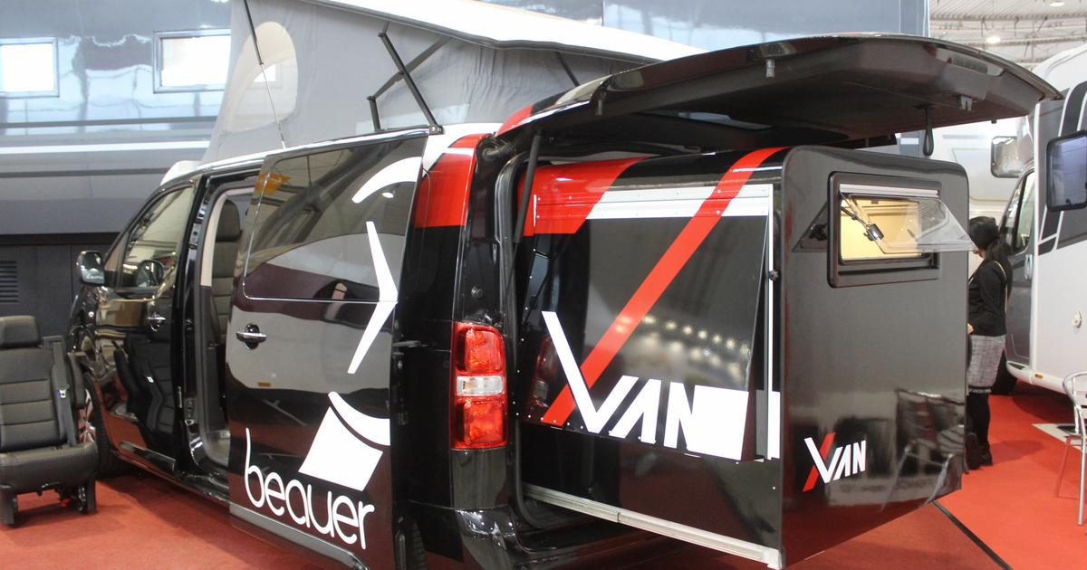Beauer's expanding sleeper pod adds extra space to your camper van