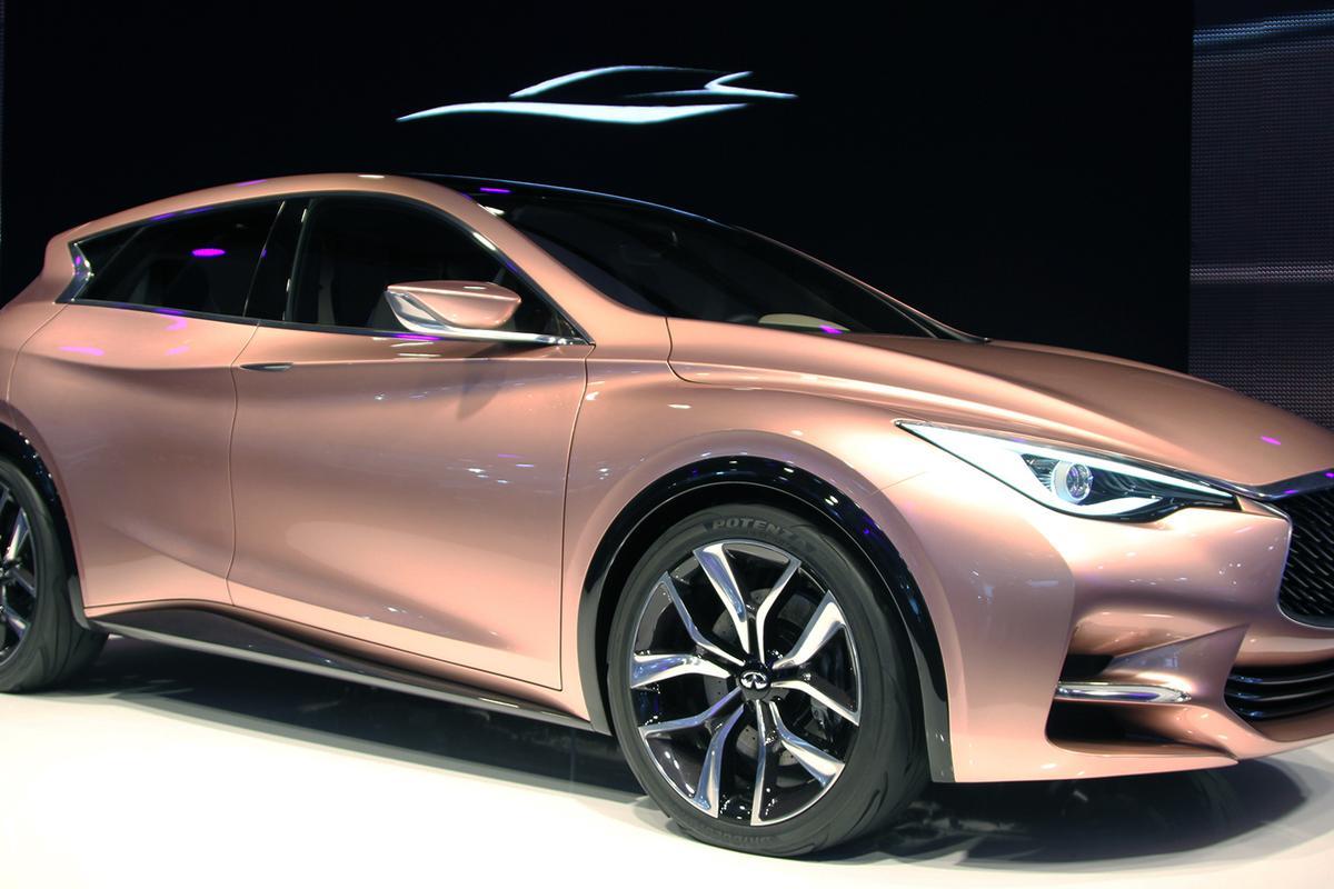 Infiniti unveils its Q30 concept (Photo: Gizmag)