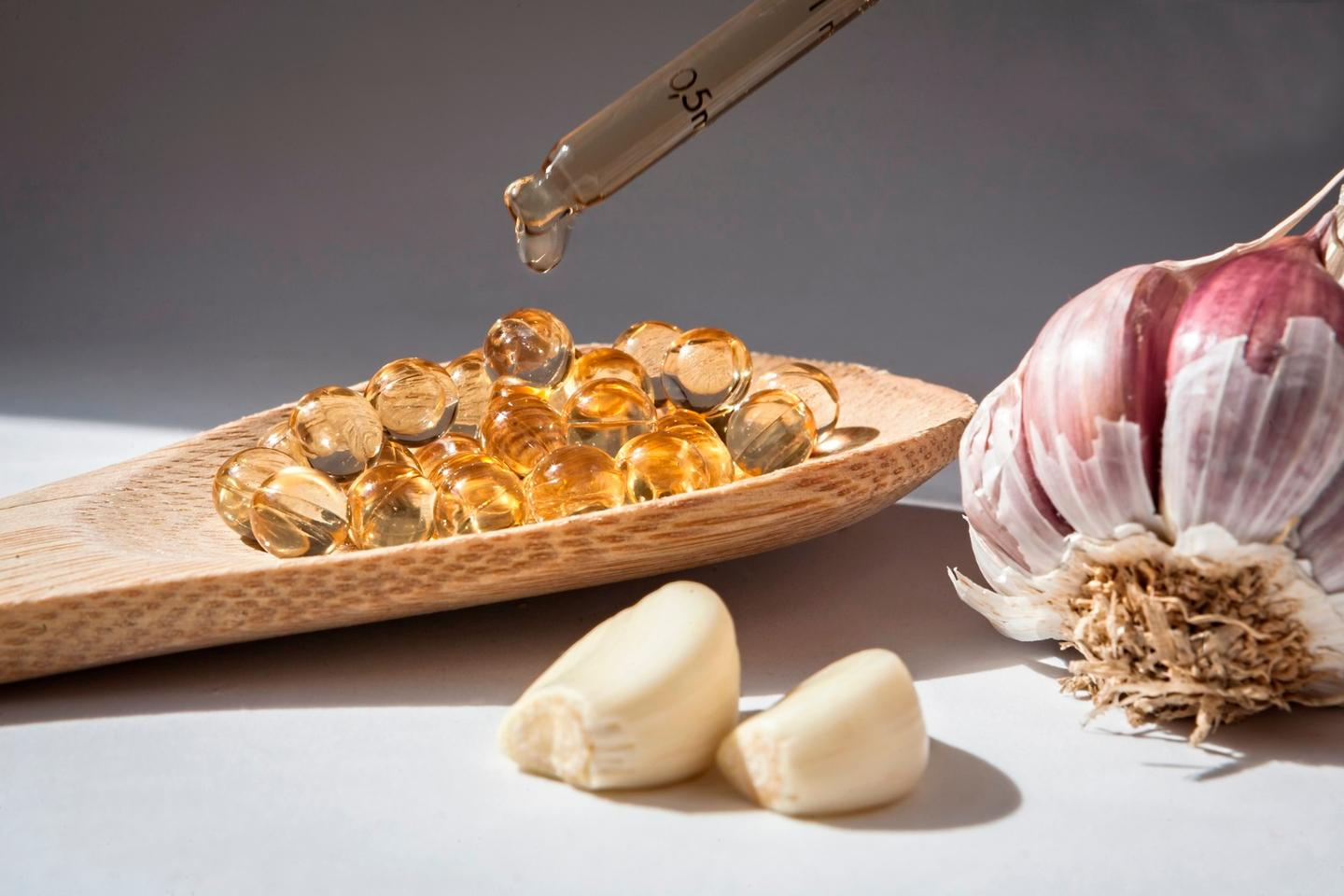 Researchers have found that some essential oils, such as garlic, may have antibiotic properties