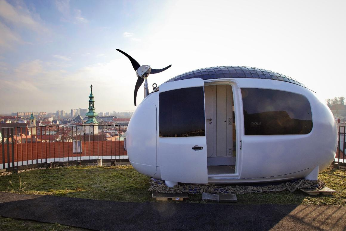 Pre-orders for the Ecocapsule are now open, with 50 units expected to ship in 2018, and more next year