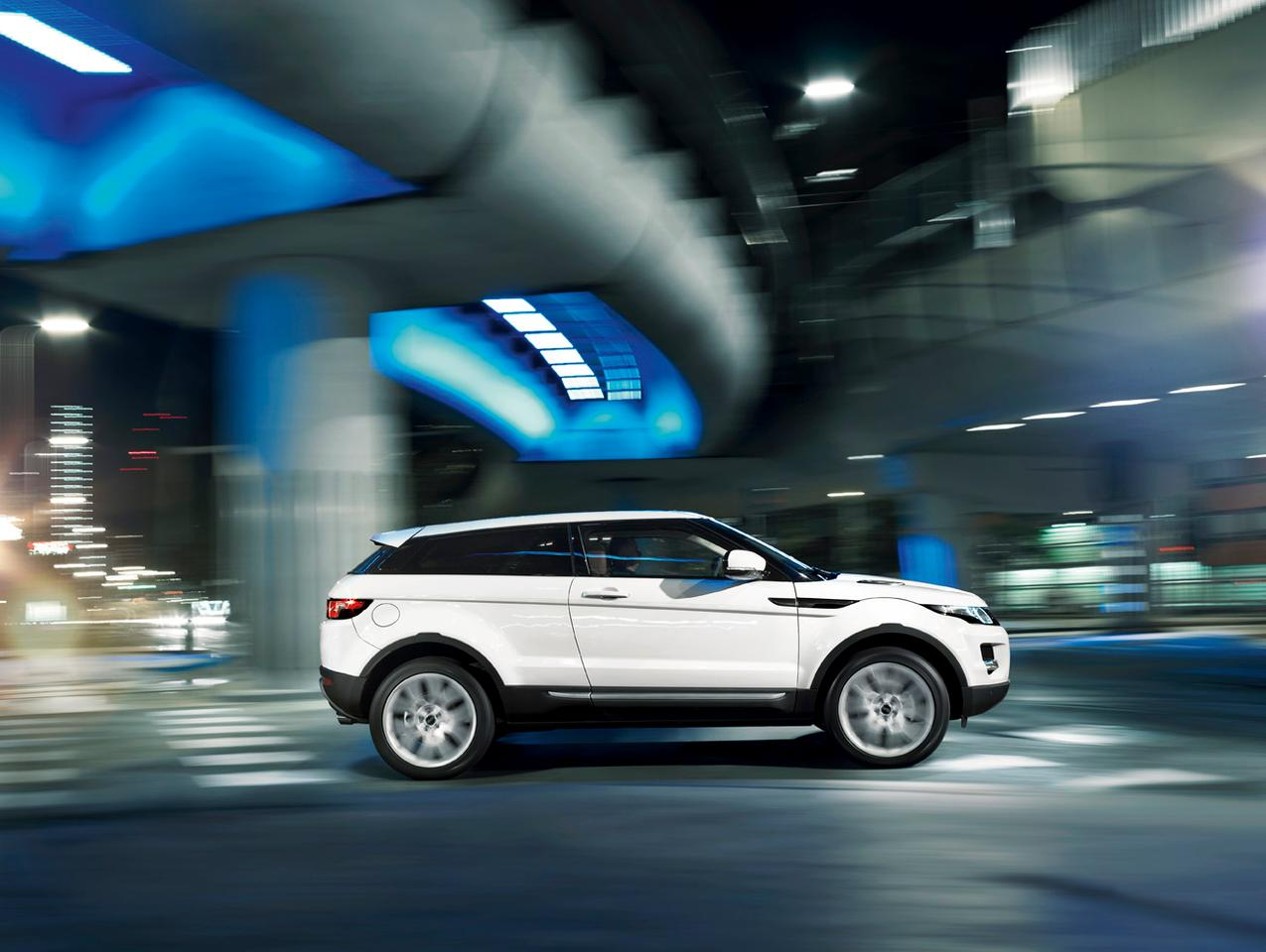 The Range Rover Evoque