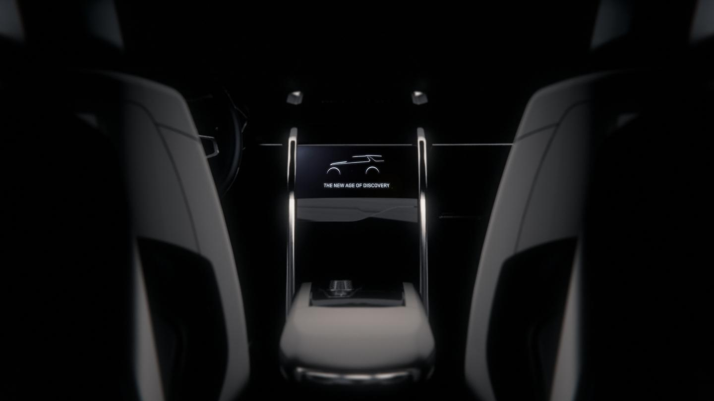 The interior of the Land Rover Discovery Vision Concept
