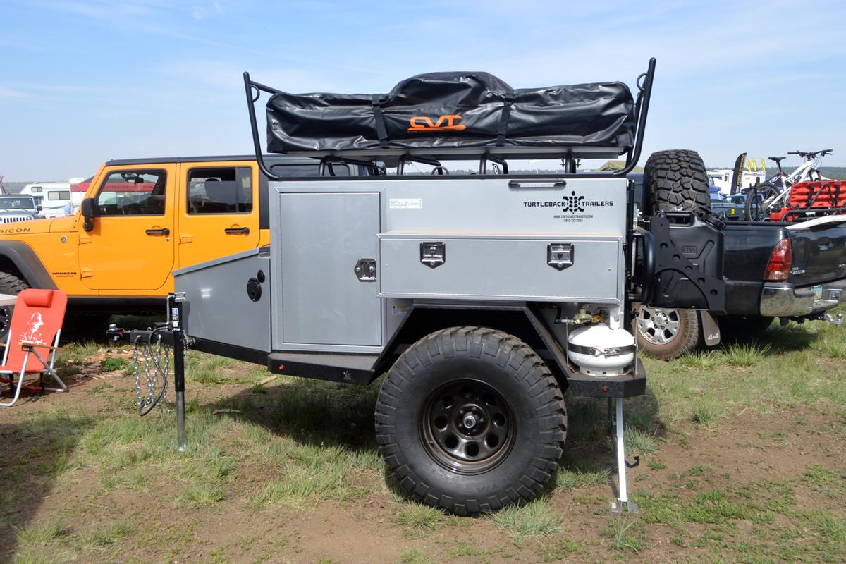 The Turtleback Trailer at Overland Expo 2014