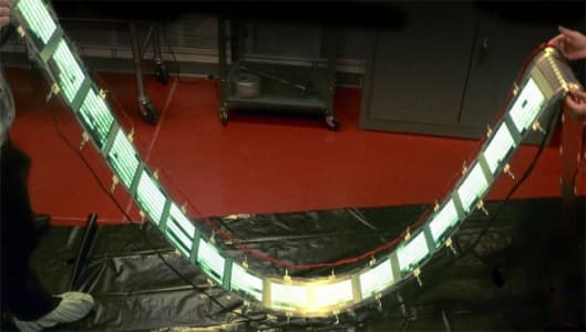 GE demonstrate roll-to-roll OLED manufacturing