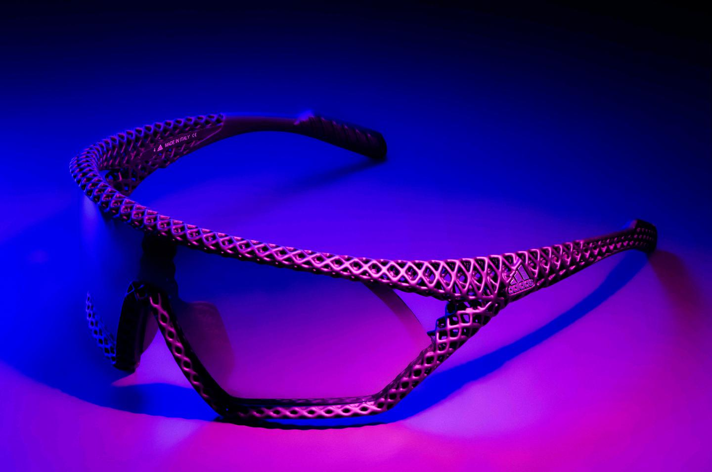 The Adidas 3D CMPT sunglasses will be priced at US$415 a pair