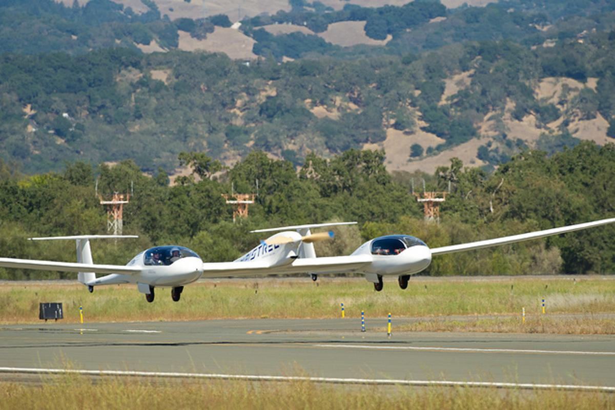 NASA has just announced that Pipistrel-USA's Taurus G4 aircraft won first prize in its Green Flight Challenge for practical electric aircraft (Photo: NASA)