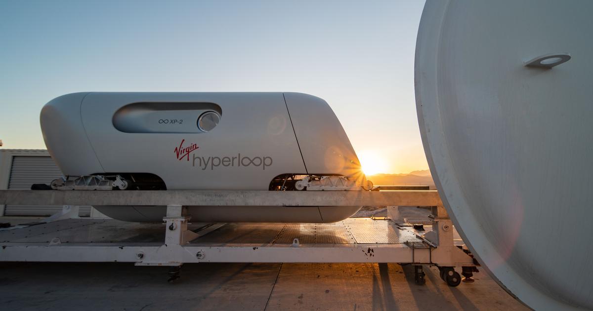 Virgin Hyperloop completes its first ever passenger test