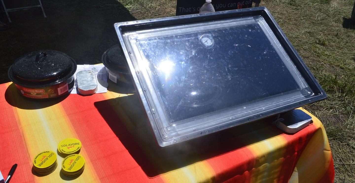 Solavore Sport oven at Overland Expo 2015
