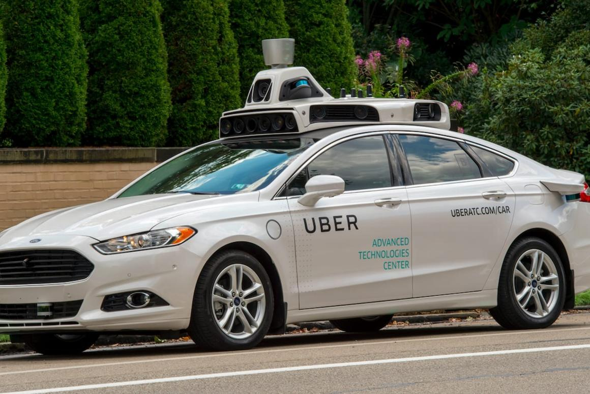 Autonomous Ubers have already hit the streets in the US