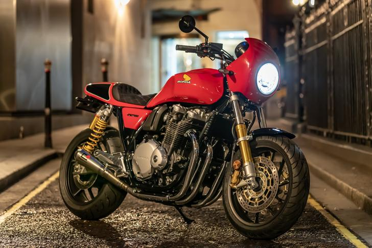 Honda CB1100 RS 5Four – a limited-edition special built by The Motorbike Show's Guy Willison