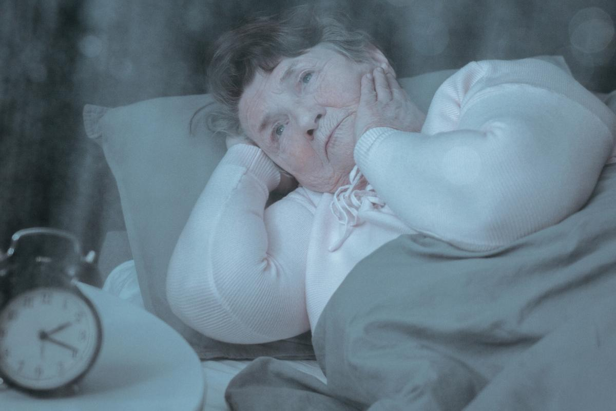 Does disrupted sleep contribute to the onset of Alzheimer's or is it just an early sign of the disease?