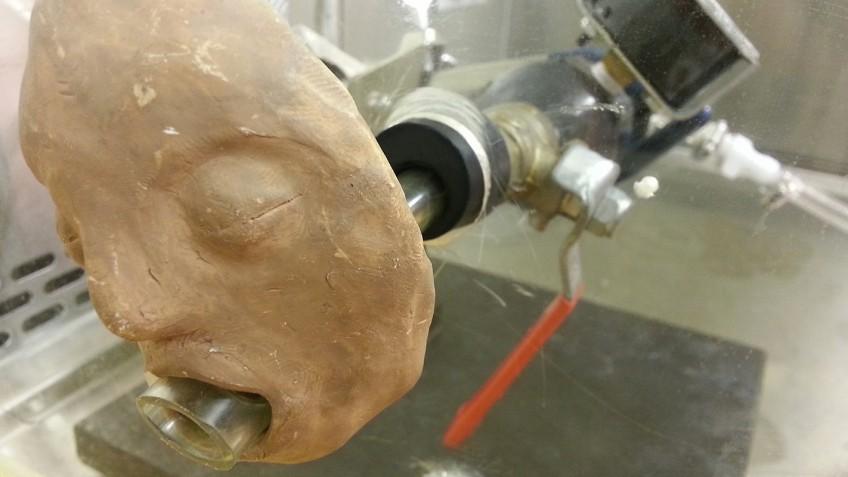 North Carolina State University's eery vomiting machine