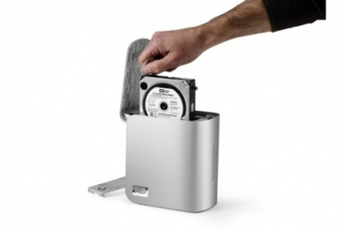 Western Digital has boosted the size of its My Book hard drive to 4TB