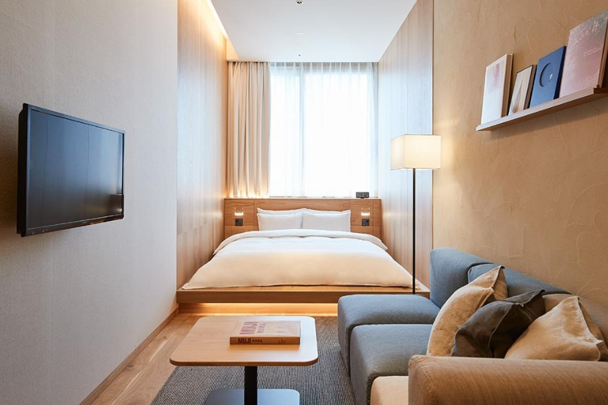 Super compact design of the Type C hotel suite