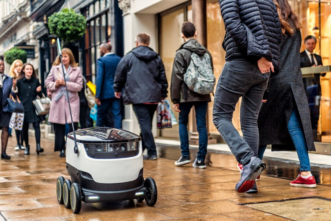 Starship has launched a new autonomous robot delivery service for corporate and academic campuses