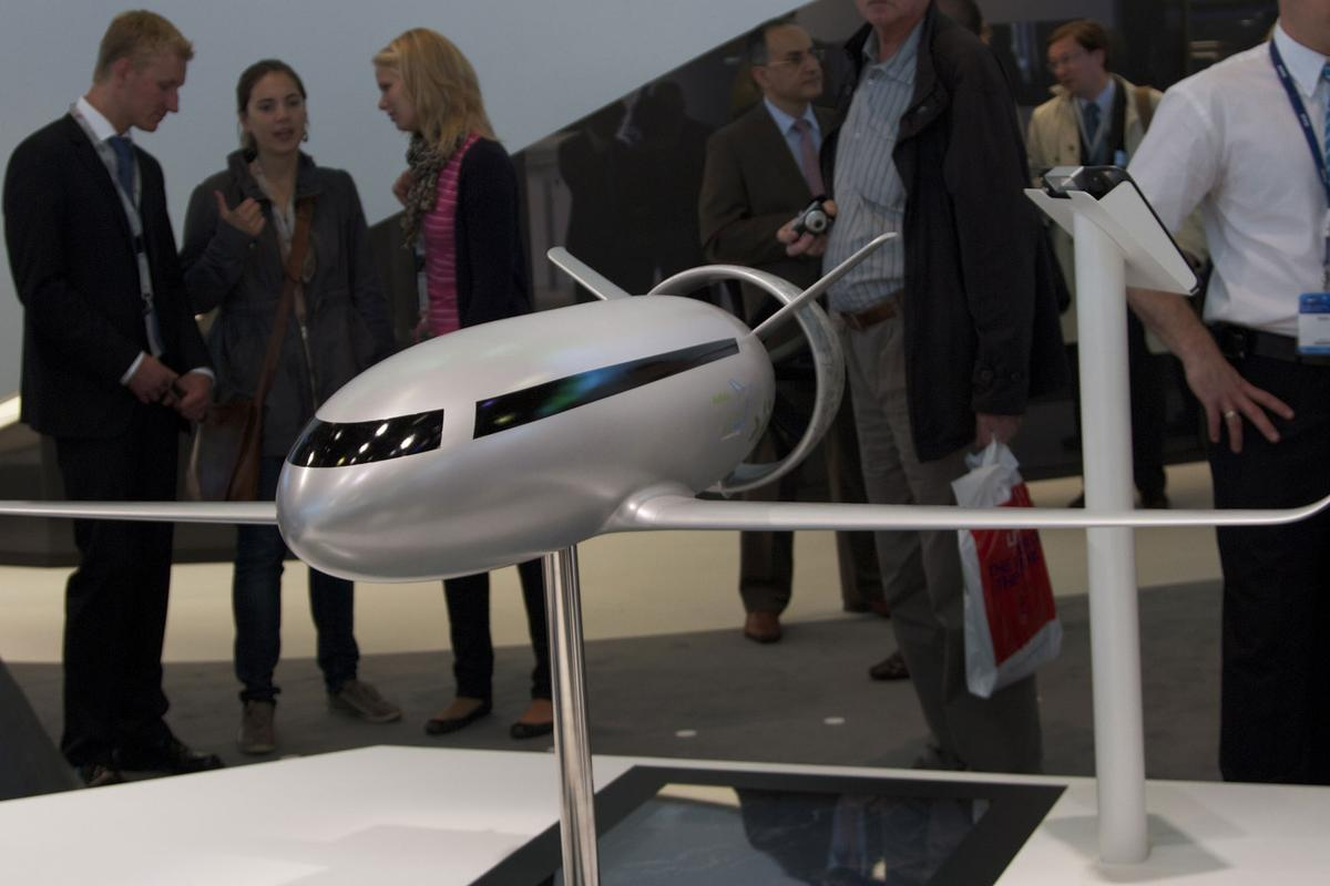 The VoltAir is a concept all-electric airliner, that could be flying within 25 years (Photo: Gizmag)