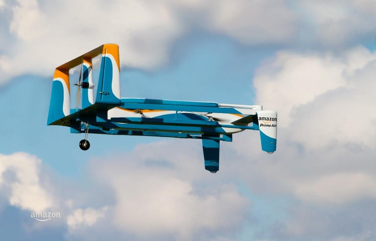 Amazon first revealed plans for its PrimeAir drone service back in 2013