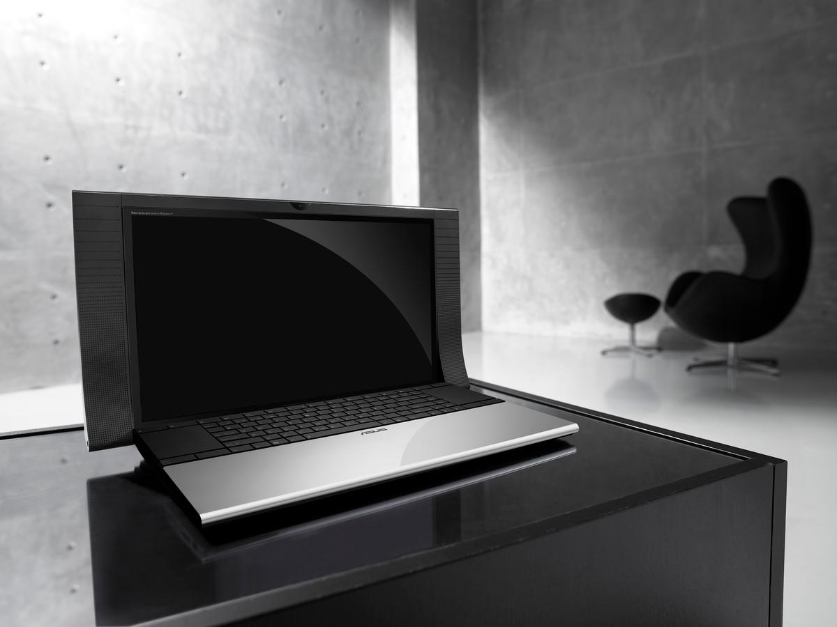 ASUS' stylish new NX90 laptop features B&O speakers and a high-definition flat-screen