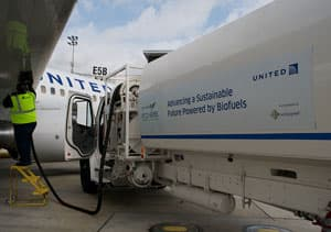Planes on designated routes from LAX will use a 30/70 mix of biofuel and traditional petroleum-derived jet fuel
