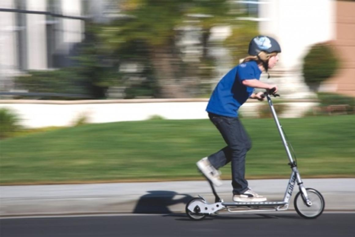 The Pulse Kick'n'Go Scooter