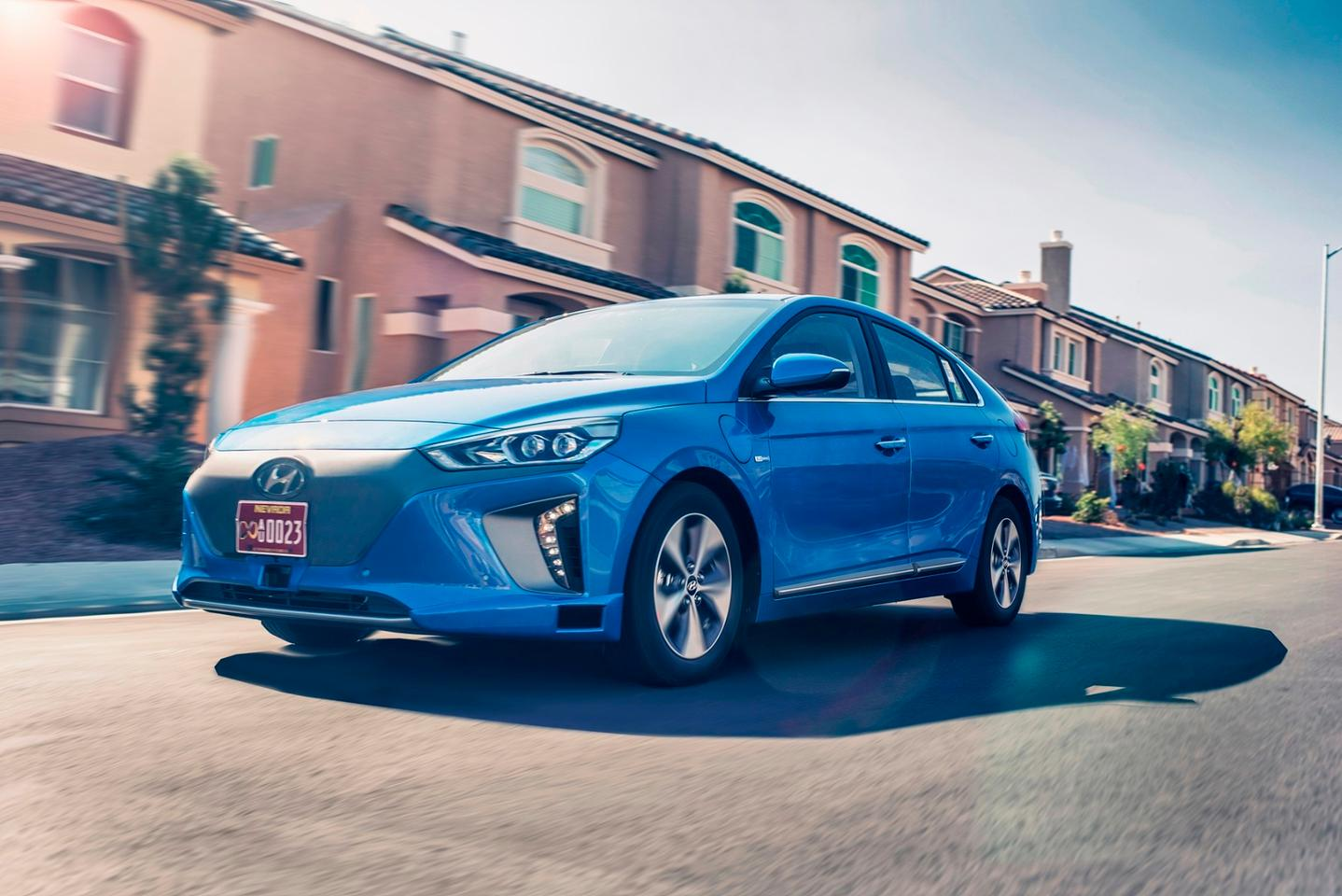 Three autonomous IONIQs are currently being tested at the Hyundai Motor Research and Development Center in Namyang, South Korea