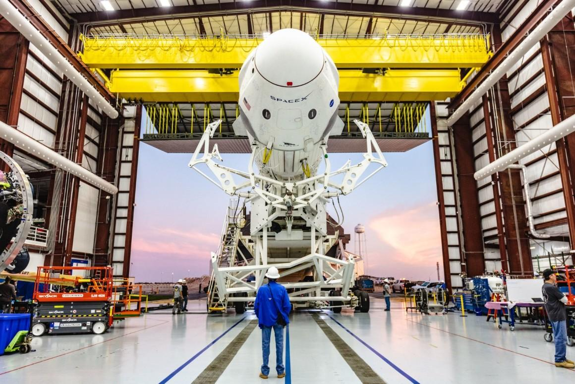 The Crew Dragon is based on SpaceX's Dragon capsule, a spacecraft which has been ferrying cargo to and from the ISS since 2012