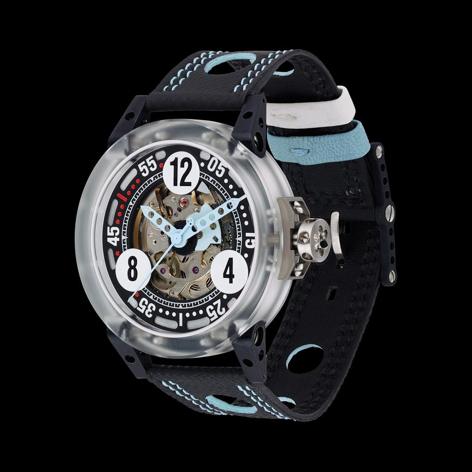 The new V6-44-MK is claimed to be the world's lightest 44 mm (1.7 in) automatic watch, tipping the scales at just 41.8 g (1.47 oz)