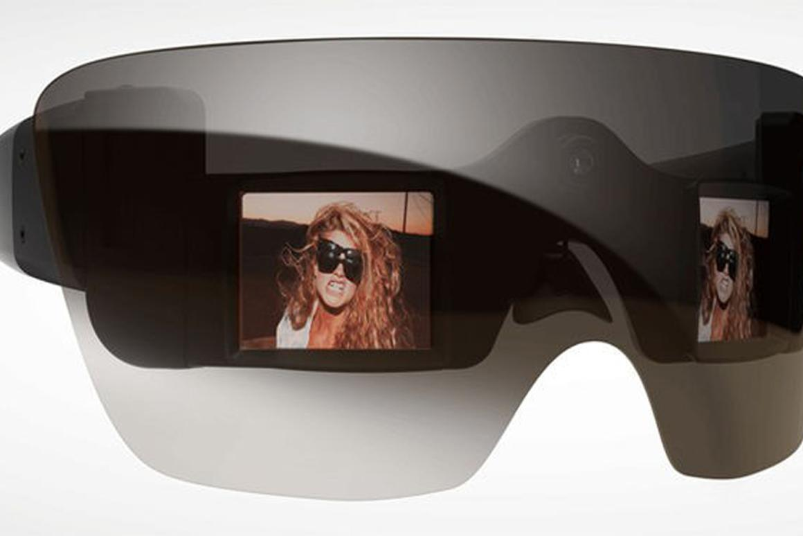 The GL20 Camera Glasses designed by Lady Gaga