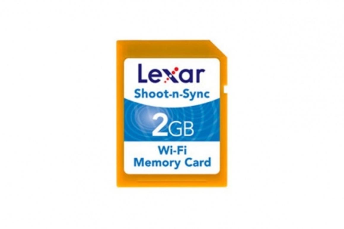 Lexar Shoot-n-Sync Wi-Fi memory card