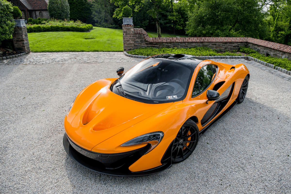 This orange P1 has covered less than 1,200 miles