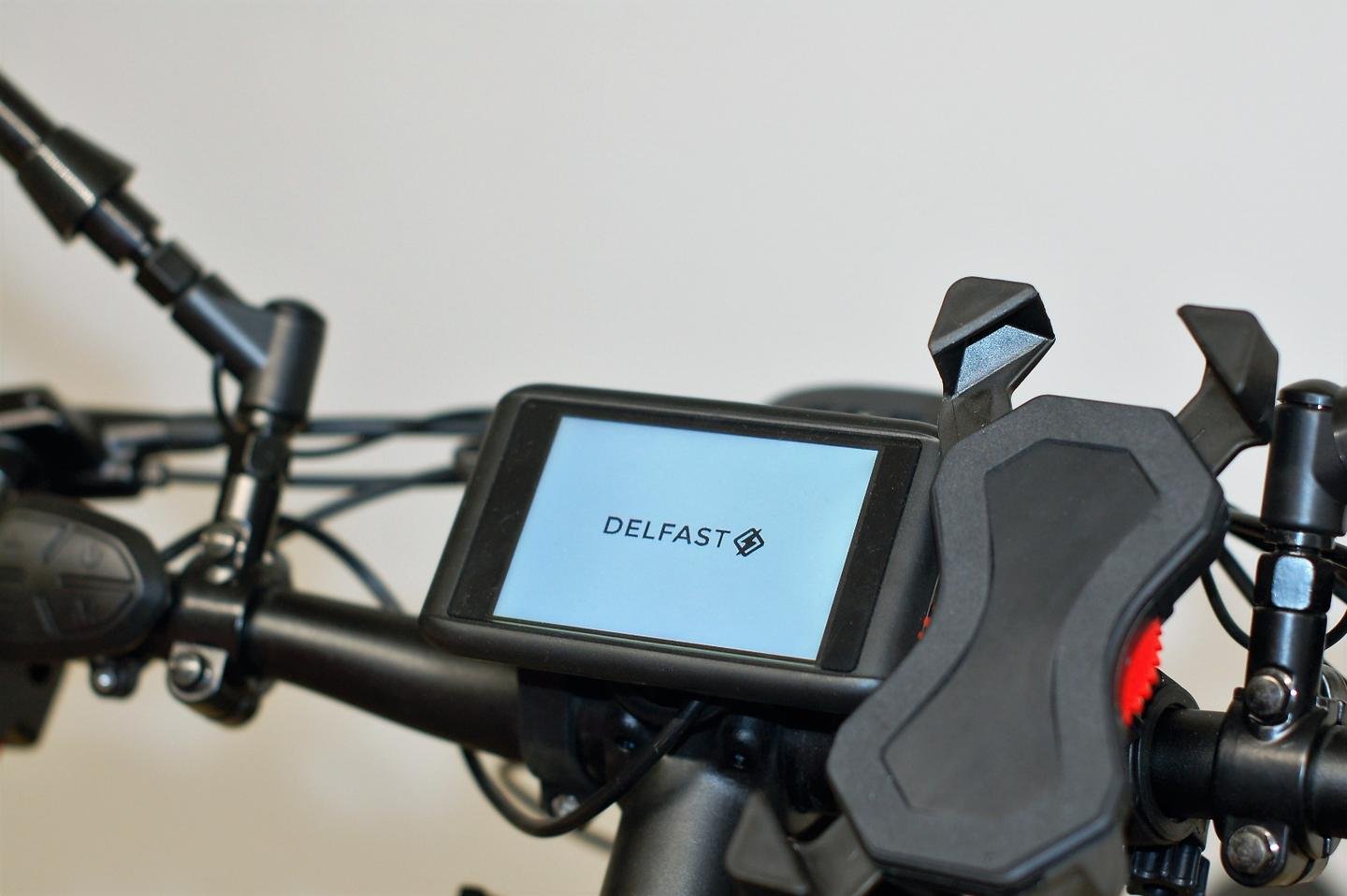 Delfast has waterproofed the color display on the upcoming Top 2.0 e-bike