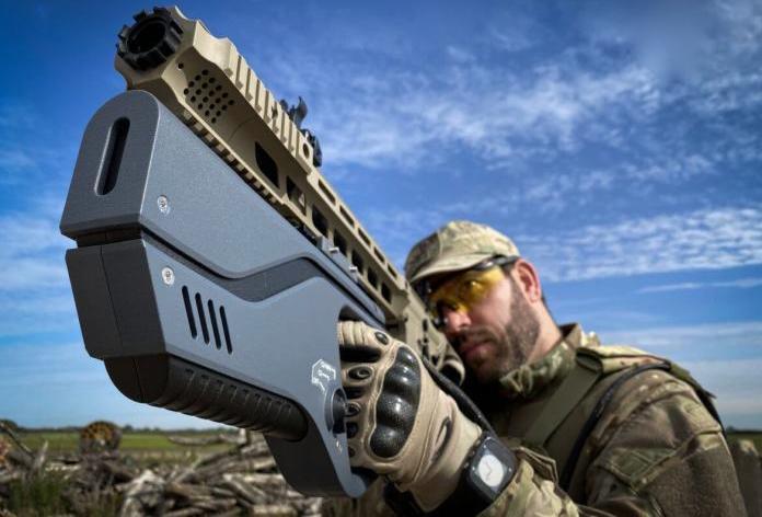 Пышка для глушения дронов