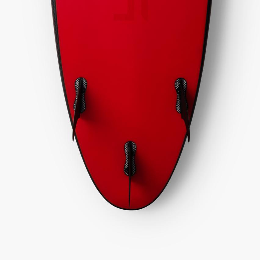 "The Limited Edition Tesla Surfboard was cooked up together with renowned surfboard shaper Matt ""Mayhem"" Biolos"