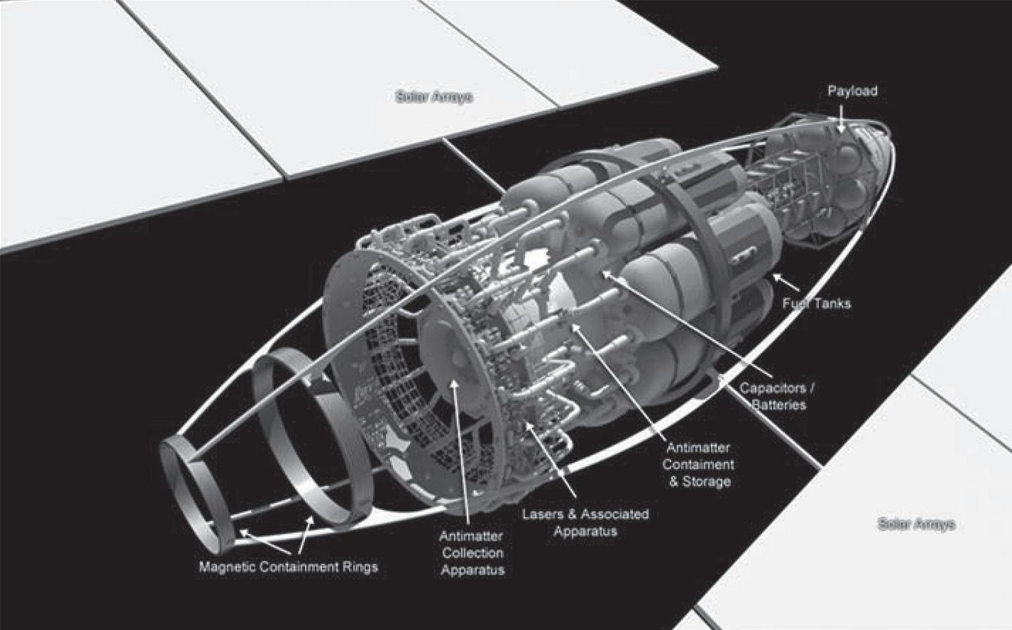 Details of the VARIES starship