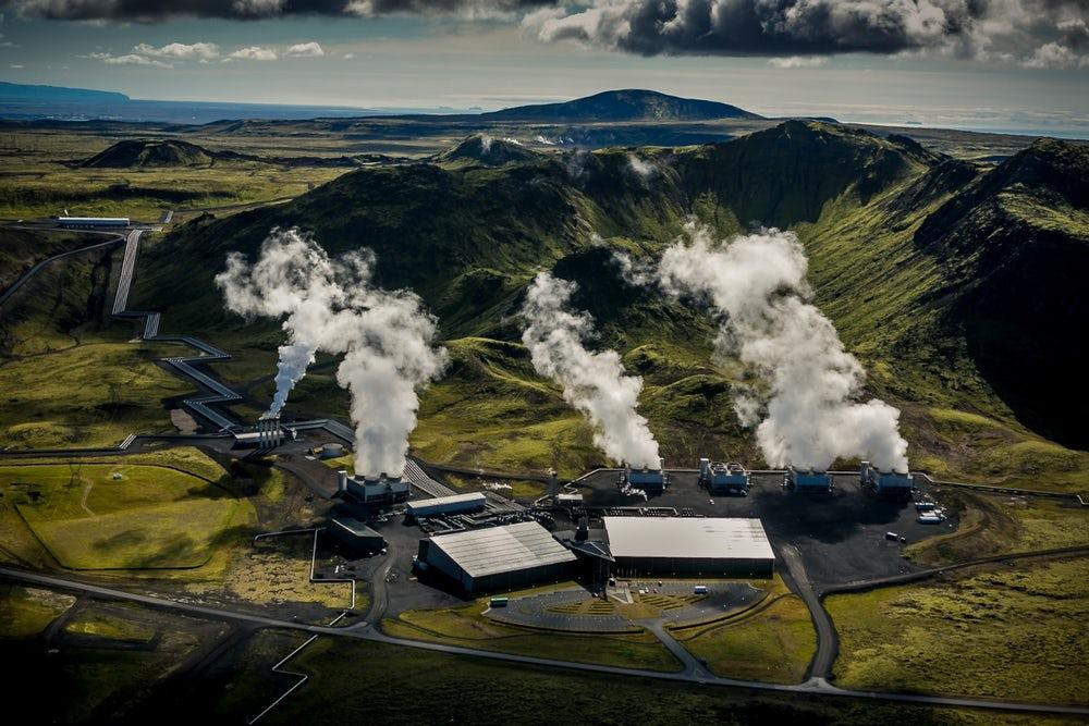 Climeworks is a Swiss energy startup that aims to collect carbon from industrial facilities using what's known as Direct Air Capture (DAC)
