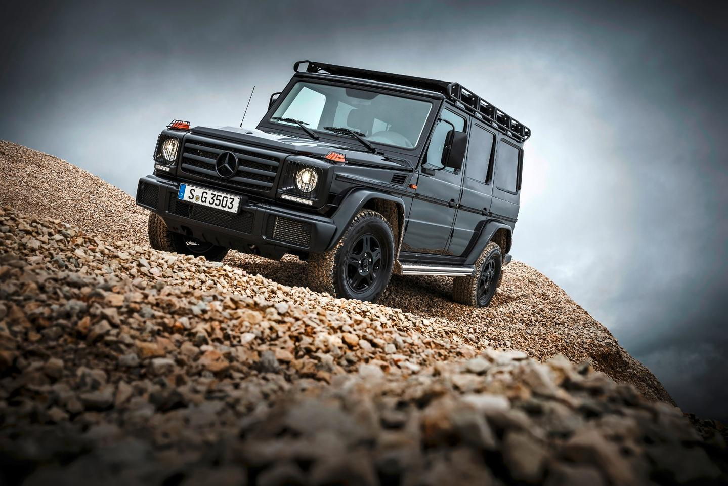 The G-Class' basic shape is largely unchanged since its debut over 35 years ago