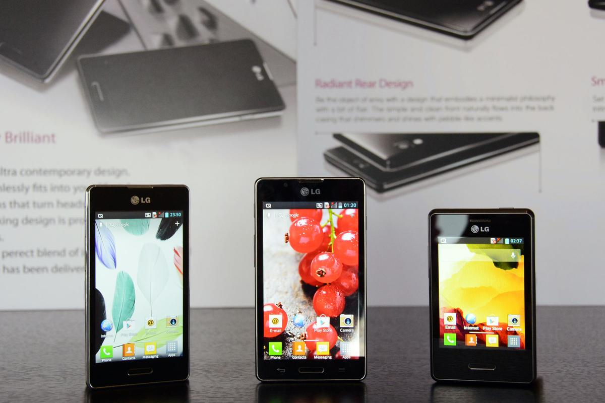 LG is updating its Optimus L smartphone series with new L3, L5 and L7 models that feature a higher-resolution display, longer lasting battery, and a dual SIM card option