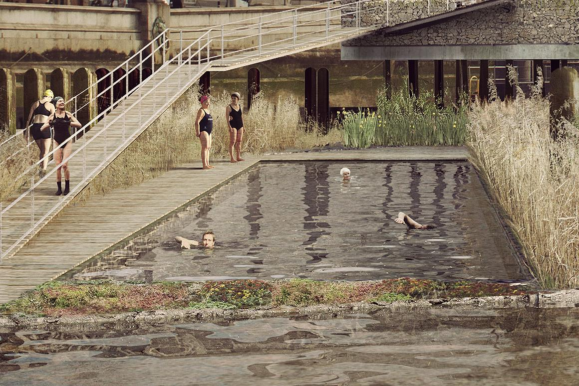 The Thames Bath project, by Studio Octopi (Image: Studio Octopi & Picture Plane)